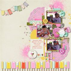 Here's The Scoop: the kit by LDrag Designs & Memory Clips - Scrapbook.com