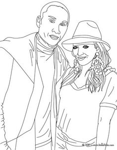 shakira coloring pages games - photo#30