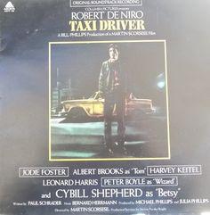 Taxi Driver, Original Movie Soundtrack, Vintage Record Album, Vinyl LP, Robert De Niro, Jodie Foster, Martin Scorsese, Columbia Pictures by VintageCoolRecords on Etsy