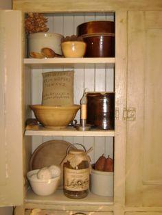 cupboard full