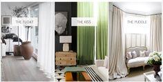 Curtain lengths