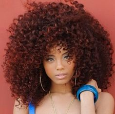 .big pretty hair #blackwomen #hairstyle