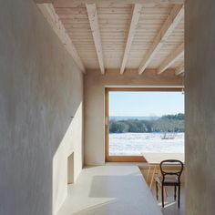 A post for those of you freezing down in Melbourne this weekend - here's a little bit of Swedish winter inspiration. We're dreaming of being nestled indoors by the heat of a fire at the Atrium House. Designed by Tham & Videgård Arkitekter the understated design according to Arch Daily gives the interior the character of a niche like shelter in the open space of the landscape. We wouldn't mind being sheltered here this weekend!