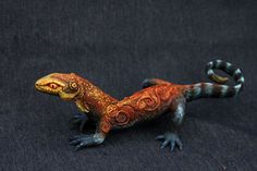 Large fire lizard by hontor