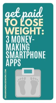 Want a cash incentive to lose weight? Get paid for your hard work with these smartphone apps! It is worth it to take the time to look into these...your health journey just got a cash bonus! #makemoneyonline #weightloss #weightlossmotivation Earn Extra Cash, Making Extra Cash, Extra Money, Make Cash Fast, Way To Make Money, How To Make, Earn Money Online Fast, Earn Money From Home, Need Cash Now