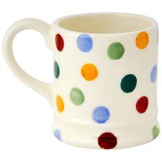 Personalised Polka Dot Tiny Mug Tree Decoration 2016