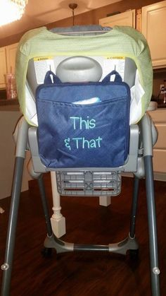 New Oh Snap Pocket Handy for stroller organization. So many uses