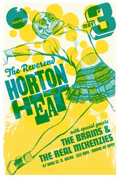 Reverend Horton Heat, The - Brains, The - Real Mckenzies, The