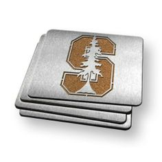 Sportula Products 7015675 Stanford Cardinal  Boaster Coaster by SPORTULA PRODUCTS. $23.22. Heavy-duty stainless steel. Unique laser-cut design. Set of Four. Strong cork backer. Boasters are a set of 4 Heavy-Duty Coasters made from stainless steel and have a strong cork backer.  They are the perfect compliment to its Sportula counterpart.