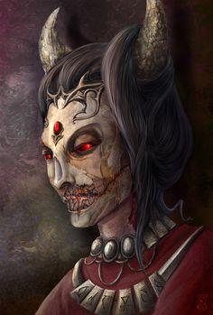 The Elder Scrolls,фэндомы,TES art,Вермина,Лорды Даэдра,TES Персонажи