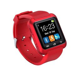 Trait-Tech Bluetooth Capacitive Touch Screen Health Wristwatch Smart Watch Phone for Smartphones IOS Android Apple iphone Puls Android Samsung Note 3 Note 4 HTC Sony (Black) Apple Iphone 5, Iphone 4, Ios Phone, Wrist Watch Phone, Watch For Iphone, Hand Watch, Smartwatch Bluetooth, Bluetooth Watch, Bluetooth Remote