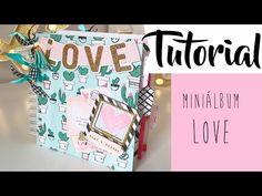 Tutorial: minialbum LOVE, proyecto para Scraperas Unidas - YouTube