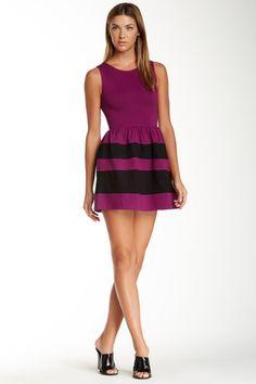 Love...Ady Striped Skirt Tank Dress