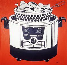 Roto Broil - Roy Lichtenstein 1961