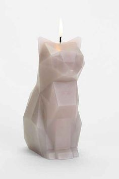 Pyro Pet Candles Skeleton Cat Candle - as it melts it reveals the cat's inner skeleton