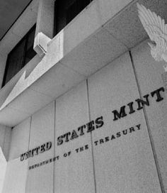 U.S. Mint, Washington, D.C. watched the $$$$$ roll by.