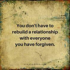 Rebuild a relationship