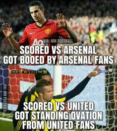 We have the classiest fans, Football Score, Football Jokes, Football Players, Robin Van, Manchester United Football, Best Fan, Man United, Classic Man, Fans