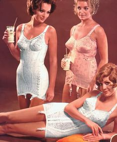 vintage girdles corsetts from the 50s