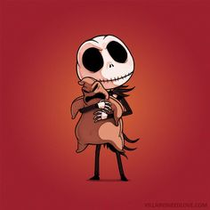 Jack [feat. Oogie Boogie] (Drawings by Naolito @Facebook) #TheNightmareBeforeChristmas