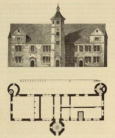 Kunstdenkmäler KN 1887 S070 Hegne Schloss.jpg