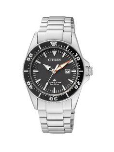 Citizen Promaster Sea Eco-Drive Diver EP6040-53E – Reloj analógico de cuarzo para mujer, correa de acero inoxidable color plateado from amazon.es