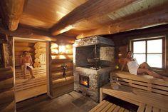 Happy Friday unwind in a sauna to end your busy week. Massage Place, Good Massage, Massage Room, Massage Chair, Saunas, How To Massage Yourself, Portable Sauna, Sauna Design, Outdoor Sauna