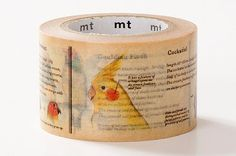 2014 NEW MT Encyclopedia Japanese Washi Tape by littlehappythings1---new to the encyclopedia family!