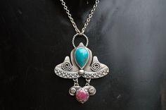 Ασημένιο κολιέ με πέτρες. Turquoise Necklace, Pendant Necklace, Jewelry, Jewlery, Jewerly, Schmuck, Jewels, Jewelery, Drop Necklace