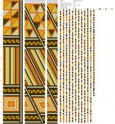 18 around tubular bead crochet rope pattern Bead Crochet Patterns, Bead Crochet Rope, Seed Bead Patterns, Loom Patterns, Beading Patterns, Crochet Beaded Necklace, Beaded Bracelet Patterns, Jewelry Patterns, Seed Bead Bracelets