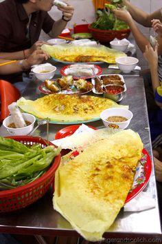 Vietnamese Savory Crepes (Banh Xeo) – in Saigon