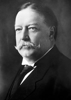 William Howard Taft was born September 15, 1857 in Cincinnati, OH, and died March 8, 1930 in Washington, D.C. He served as 27th President of the United States from March 4, 1909 to March 4, 1913, serving one full term. He was affiliated with the Republican party. His vice-president was James Schoolcraft Sherman (1909-1912). His first lady was Helen Louis (Herron) Taft, his wife.