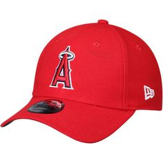 1317f44385e Men s Los Angeles Angels New Era Red Game of Thrones 9FORTY Adjustable Hat
