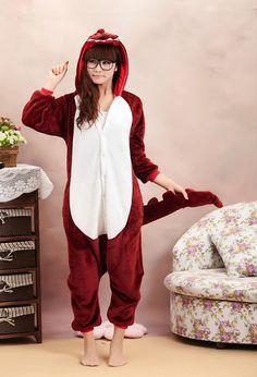 Kigurumi Dinosaur Pajamas,Dragon,Warm,Unisex,Dress,Clothes,Cosplay,Costume on Etsy, £25.67