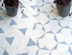 Micro and macro patterns in Cement Tiles | Claesson Koivisto Rune, Stockholm for Marrakech Design