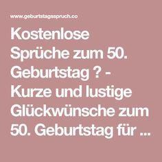 Lustige Spruche Zum Geburtstag 50 Spruche Zum 50 Geburtstag