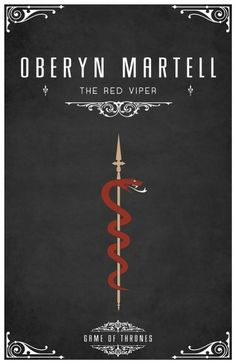 Oberyn Martell. I think everyone threw the book at the wall when he died. #allmenmustdie