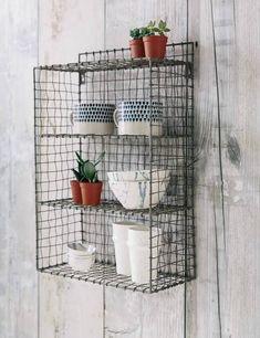 wire shelves locker
