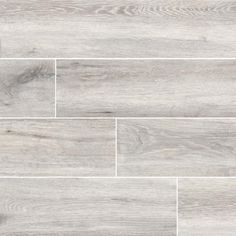 MSI Antoni Platinum x Porcelain Wood Look Tile in Gray