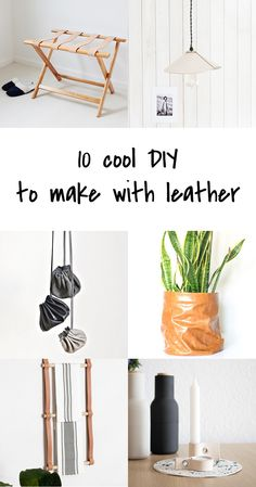 Die 128 Besten Bilder Von Diy Leder Leather In 2019 Leder Diy