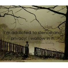 """I'm addicted to silence and privacy. I wallow in it. Valorie Wesley, I tend to think of it as """"basking"""" rather than """"wallowing,"""" but you get the idea! :-) INFJ and INFP-T website 16 Personalities . Intj And Infj, Intj Intp, Mbti, Intj Personality, Myers Briggs Personality Types, Highly Sensitive, I Can Relate, Solitude, Decir No"""