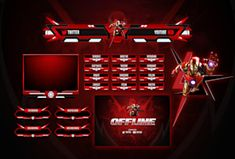 Fiverr freelancer will provide Graphics for Streamers services and design twitch overlay and stream pack esports logo including Facecam within 2 days Logo Dragon, Team Logo Design, Id Card Template, Youtube Channel Art, Esports Logo, Design Fields, Create Animation, Free Logo, Social Media Design