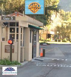 Entering Warner Bros Studio for the VIP Tour (www.cartantours.com)