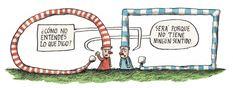 Ricardo Siri Liniers, Desde 2001 dibuja esta serie de cómics bajo el título de Macanudo. En ella, diversos personajes plantean reflexiones filosóficas, políticas, creativas y cotidianas. The Outsiders, Humor, Inspiration, Inspiring Art, Hdd, Grande, Funny, Comic Strips, Comics