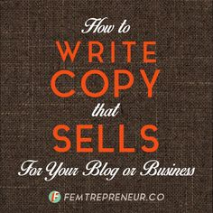 Many bloggers and business owners underestimate the importance of writing copy. Your sales pages and About pages should be unique, clear, concise, and informative.