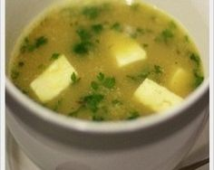 Moong With Paneer Soup
