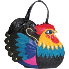 Braccialini Temi Gallo (Rooster) the icon of fall winter 2016 collection is already on sale! http://www.airfashion.it/040315201918/bags-leather/artistic-bags/1/Braccialini/Braccialini.html