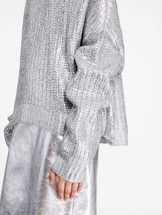 Foil Print Pullovernull