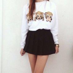Cute teen summer outfit