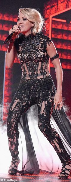 Showstopper:Carrie Underwood blew the CMT Music Awards audience away not once but three t...